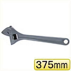 TRUSCO ワイドモンキーレンチ15°タイプ 375mm TWM15375 3100