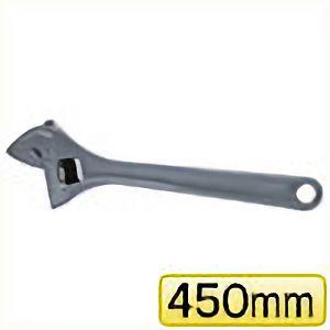 TRUSCO ワイドモンキーレンチ15°タイプ 450mm TWM15450 3100