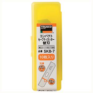 TRUSCO コンパクトセーフティカッター替刃 10枚入 SKB7 3100