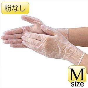 TRUSCO ビニ−ル手袋 粉なしM 100枚 TVG100M 8539