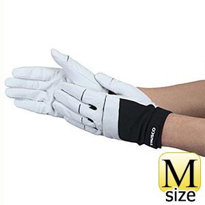TRUSCO 豚革手袋フィンガースリット M TPGLGFSM 8539
