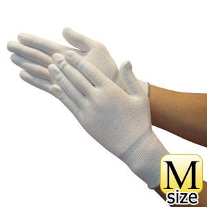 TRUSCO ホワイトHPPEインナー手袋 M TGL5100KM 8539