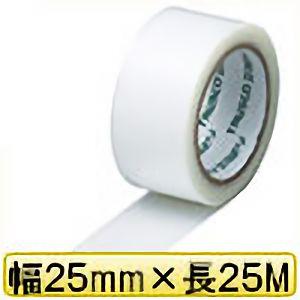 TRUSCO クロス粘着テープ 幅25mmX長さ25m クリア 透明 GCT25 3100TM