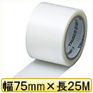 TRUSCO クロス粘着テープ 幅75mmX長さ25m クリア 透明 GCT75 3100TM