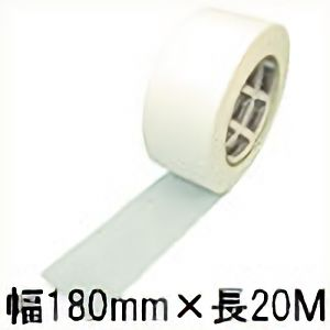 TRUSCO 通気性粘着テープ 180mm×20m TBAT1802 3100