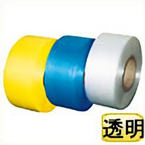 TRUSCO 自動梱包器用PPバンド幅15.5mmX長さ2500m 透明 GPP15558TM 3100