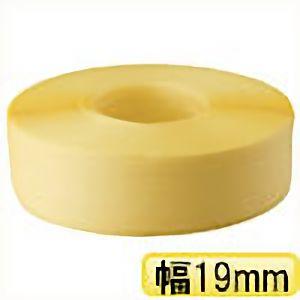 TRUSCO 封かん機用PPバンド19mm×1000m巻 黄 TPPS19Y 3100