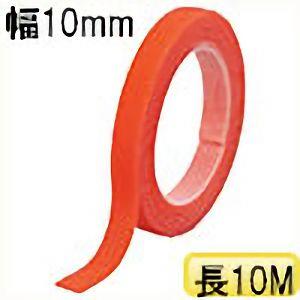 TRUSCO マジックバンド結束テープ 両面 幅10mmX長さ10m オレンジ MKT10100OR 3100
