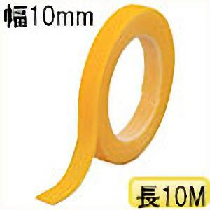 TRUSCO マジックバンド結束テープ 両面 幅10mmX長さ10m 黄 MKT10100Y 3100