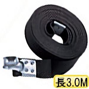 TRUSCO ゴムロープ金具付き幅20×折長3.0m 1本入 GR2030K1 3100