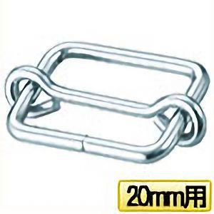 TRUSCO ゴムロープ用金具 バックル 20mm用 1個入 TGR20KB1 3100