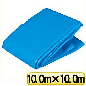 TRUSCO ブルーシートα2500寸法10.0m×10.0m BSA251010 3100