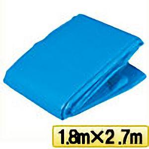 TRUSCO ブルーシートα2500寸法1.8m×2.7m BSA251827 3100