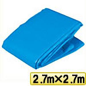 TRUSCO ブルーシートα2500寸法2.7m×2.7m BSA252727 3100