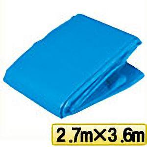 TRUSCO ブルーシートα2500寸法2.7m×3.6m BSA252736 3100