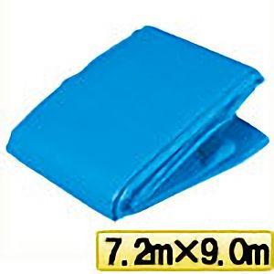 TRUSCO ブルーシートα2500寸法7.2m×9.0m BSA257290 3100