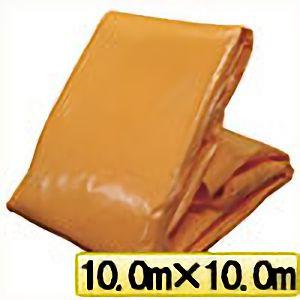 TRUSCO オレンジターピーシート#3000 幅10.0mX長さ10.0m TP1010OR 3100