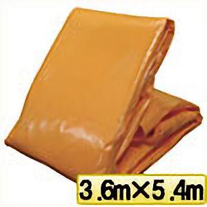 TRUSCO オレンジターピーシート#3000 幅3.6mX長さ5.4m TP3654OR 3100