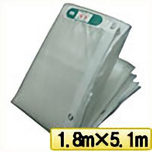 TRUSCO ライトクリアメッシュシート 幅1.8mX長さ5.1m クリア LCM1851TM 3100
