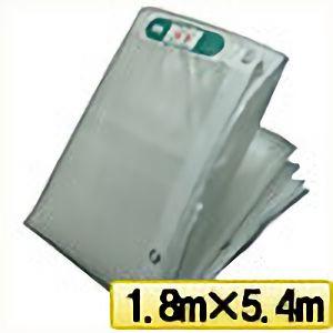 TRUSCO ライトクリアメッシュシート 幅1.8mX長さ5.4m クリア LCM1854TM 3100
