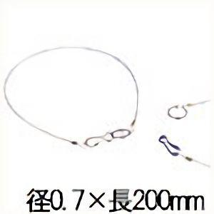 TRUSCO 吊り下げロープ 5本1組 0.7Ф×200mm T86001 3100