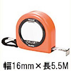 TRUSCO メモプレート付コンベックス フリータイプ 16mm幅 5.5m TT1655 4500