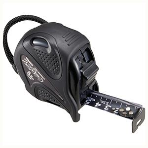 TRUSCO ユニバーサルデザインコンベックス ユニロック 25mm幅5.5m TRC2555GLK 4500