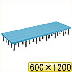 TRUSCO 樹脂ステップ高さ調節式600X1200 H200−220 DS6012H 8037