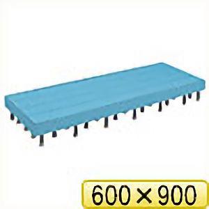 TRUSCO 樹脂ステップ高さ調節式側板付600X900 H200−220 DS6090HG 8037
