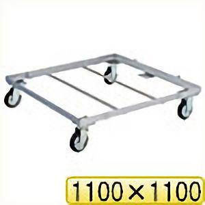 TRUSCO パレット台車 1100x1100 PLK051111 8000