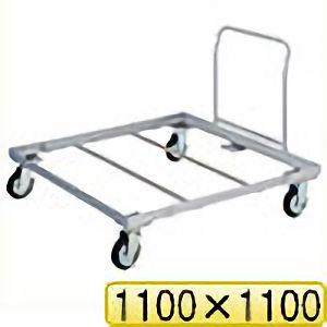 TRUSCO パレット台車 1100x1100 ハンドル付 PLK051111H 8000
