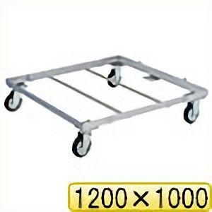 TRUSCO パレット台車 1200x1000 PLK051210 8000