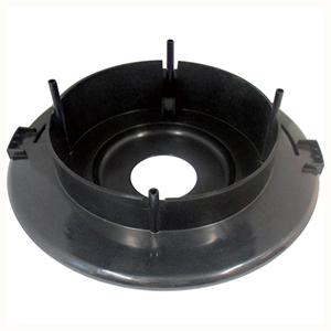 TRUSCO TVC134Aモーター台(黒) 5606101000 3100