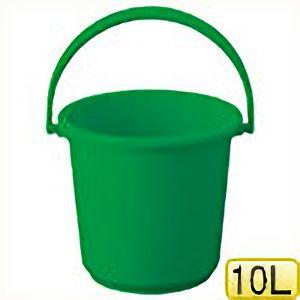TRUSCO PPカラーバケツ 10L 緑 TPPB10GN 8037