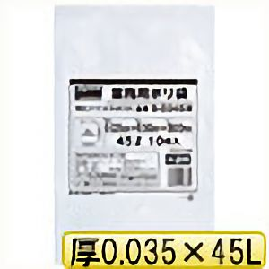 TRUSCO 業務用ポリ袋0.035X45L(半透明) B0045W 8539