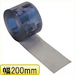 TRUSCO ストリップ型間仕切りシート静電透明2X200X30M TS22030 8000