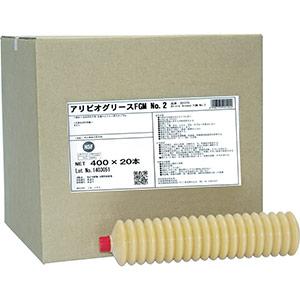 TRUSCO 食品機械用潤滑剤 アリビオグリースFGM No.2 400g 201267 8700