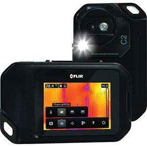 TRUSCO 赤外線サーモグラフィ コンパクトサーモグラフィカメラ C2 C2 6353