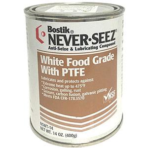 TRUSCO 食品機械用潤滑剤 ネバーシーズ PTFEグリス食品グレード 400g NSWT14 5056