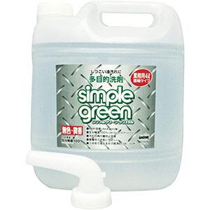 TRUSCO 多目的洗剤 シンプルグリーンクリスタル 4L 詰替用 SGC4L 8591