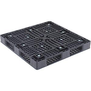 TRUSCO α樹脂パレット(片面四方差し) 超軽量薄型 1100×1100×125 TAP1111S 8000