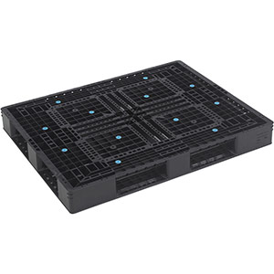 TRUSCO 樹脂パレット 片面4方差 1400×1100 TAPD41114 8000