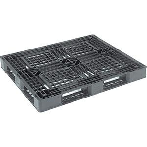 TRUSCO 樹脂パレット 片面4方差 1200×1000 TJLD41210E 8000