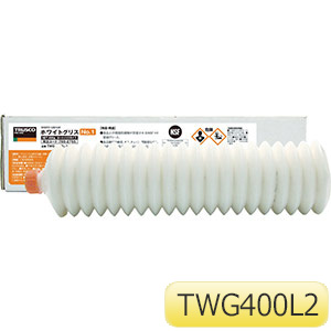 TRUSCO 食品機械用潤滑剤 ホワイトグリス 400g #2 TWG400L2 4050