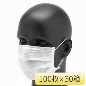 クリーンマスク F200 耳掛け式 100枚/箱