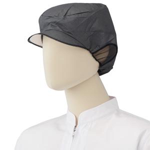 エレクト・ネット帽 EL−402BK (20枚X10袋) ブラック L