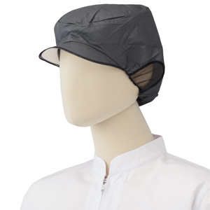 エレクト・ネット帽 EL−402BK (20枚X10袋) ブラック LL