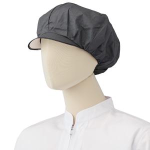 エレクト・ネット帽 キャスケット EL−700BK (20枚X10袋) ブラック