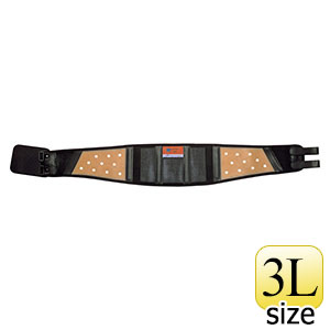 腰部保護ベルト DR−1G (男性用) らくようたい ブラック 3L