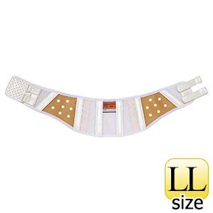 腰部保護ベルト DR−1L (女性用) らくようたい ホワイト LL